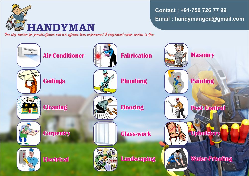 Handyman Services in Goa